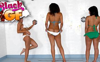 Serena in Splish Splash - BlackGfs