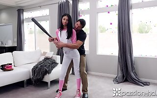 Helping will not hear of ray with handjob in the shower Jada Doll gets nailed sooner
